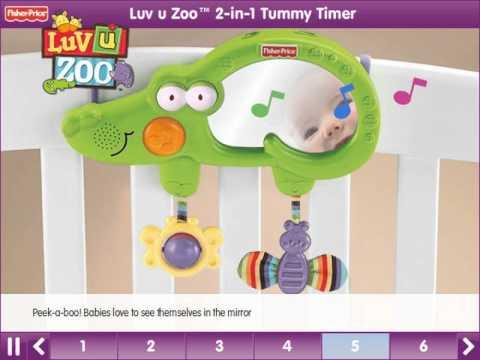 Luv U Zoo™ 2-in-1 Tummy Timer