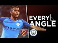 GABRIEL JESUS GOAL: EVERY ANGLE | West Ham 0-4 City | Premier League 2016-17