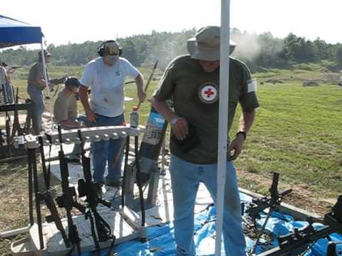 Camden Tn 09 16 06  50 cal Barrett & bowling ball mortar