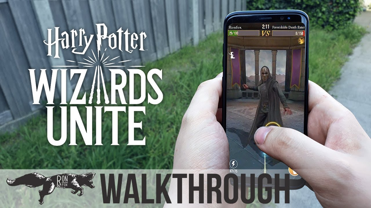 HOW TO PLAY HARRY POTTER WIZARDS UNITE - Part 1: Getting Started