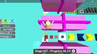 Roblox Mega Fun Obby HholykukingamesYT Plays Stages 780-850
