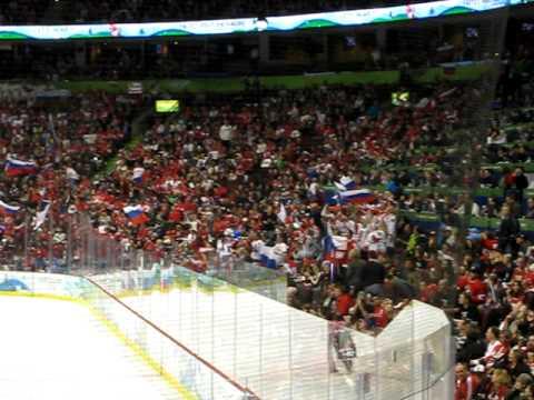 Russia vs. Czech Republic Crowd