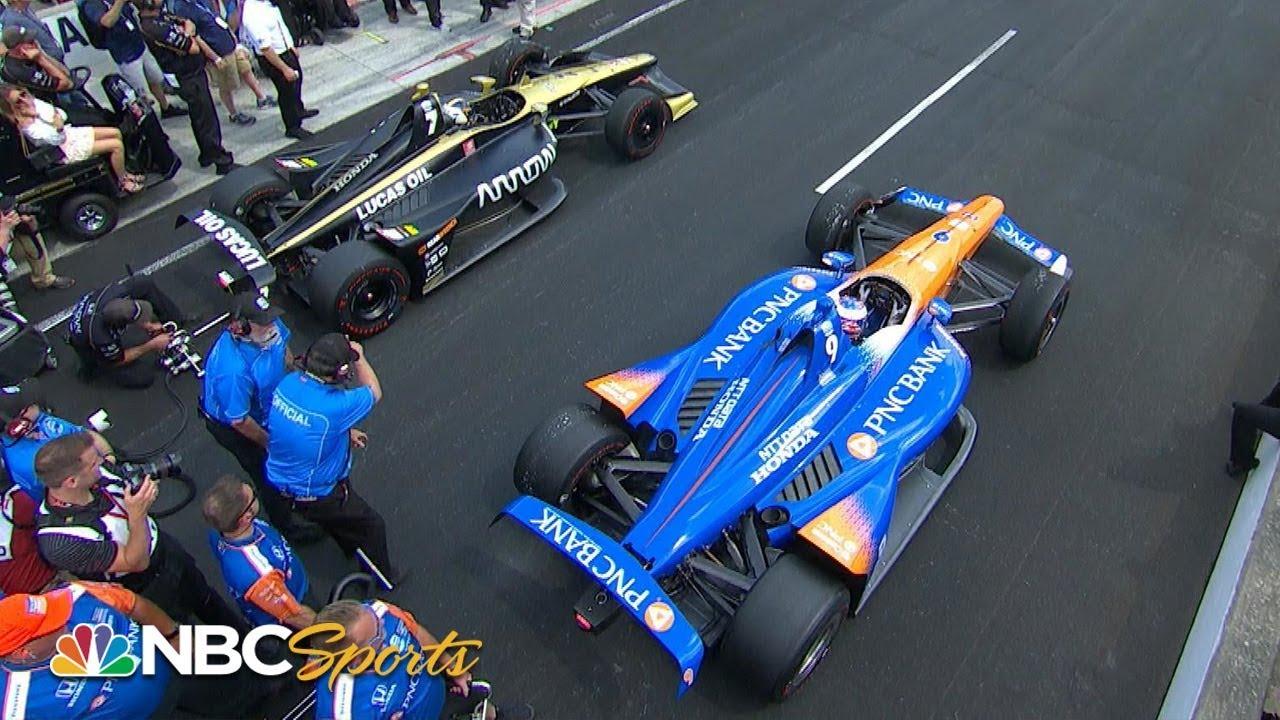 Marcus Ericsson wins IndyCar Pit Stop Challenge   Motorsports on NBC
