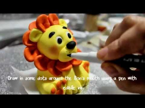 How To Make A Lion Topper Part 2 Youtube