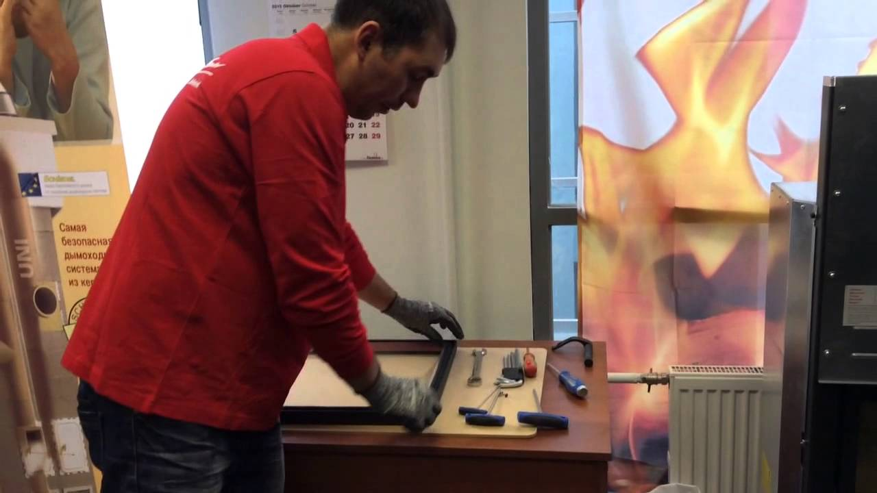 Очиститель для термостойкого стекла - YouTube