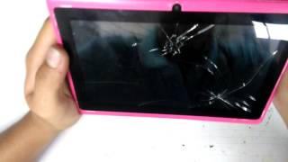 Mi tablet  no enciende. soluccion