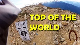 Top of the World - Downhill mtb Trail, Whistler Bike Park - GoPro HD