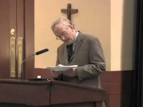 "John E. Hare - ""Divine Command Theory"" (Plantinga Fellow Lecture) Part 1"