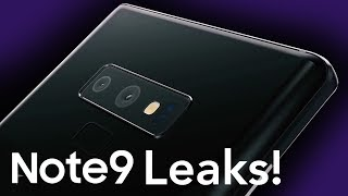 Samsung Galaxy Note 9 Leaks! Everything we know