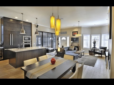 121 Modern Open Concept Kitchen Dining Living Room All Together Open Plan Kitchen Ideas Youtube