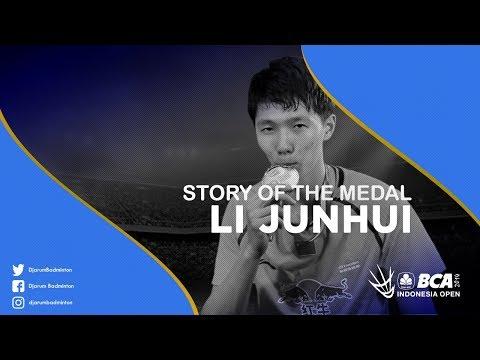 Li Junhui (China) - Story Of The Medal BCA Indonesia Open 2017