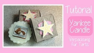 [CRAFT ROOM] #54 Tutorial Yankee Candle Tart Verpackung - DIY