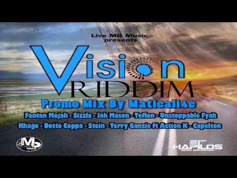 Vision Riddim Mix {Live MB Music} [Reggae] @Maticalise