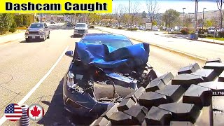 Ultimate North American Cars Driving Fails Compilation - 192 [Dash Cam Caught Video]