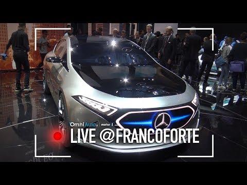 Mercedes EQ A Concept, la nuova Classe A sarà così... | Salone di Francoforte