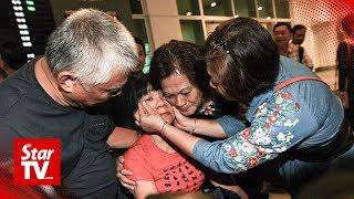 Seventeen Malaysian survivors return home after Lombok landslide