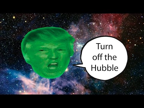 """Turn Off the Hubble"" Anthem for the Republican War on Science"