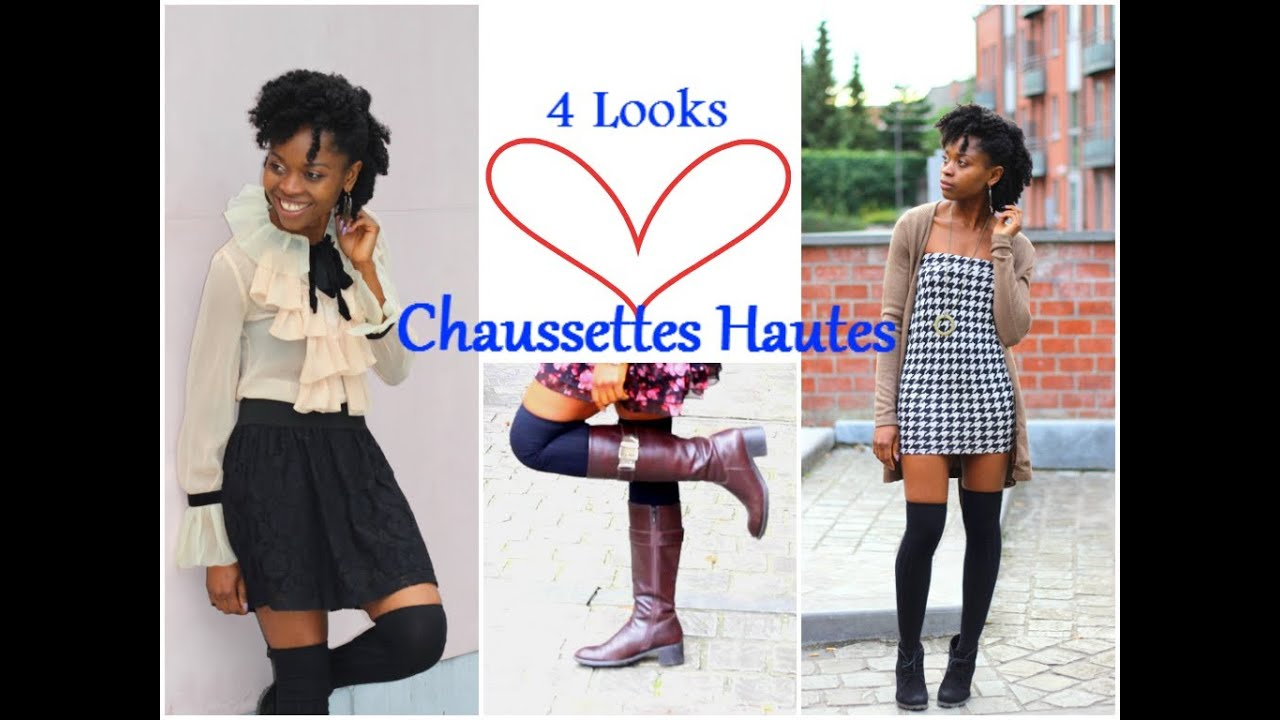 how i style chaussettes hautes youtube. Black Bedroom Furniture Sets. Home Design Ideas