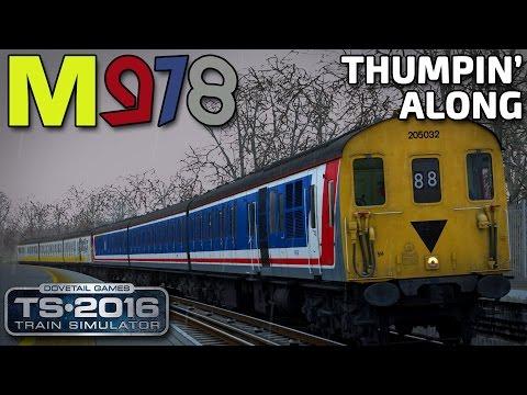Thumpin' Along! | Class 205 DEMU | TS2016 | South London Network
