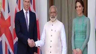 الهند.. ولائم وموسيقى على شرف الأمير ويليام وزوجته