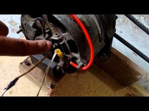 Como fazer carregador de bateria com alternador passo a passo
