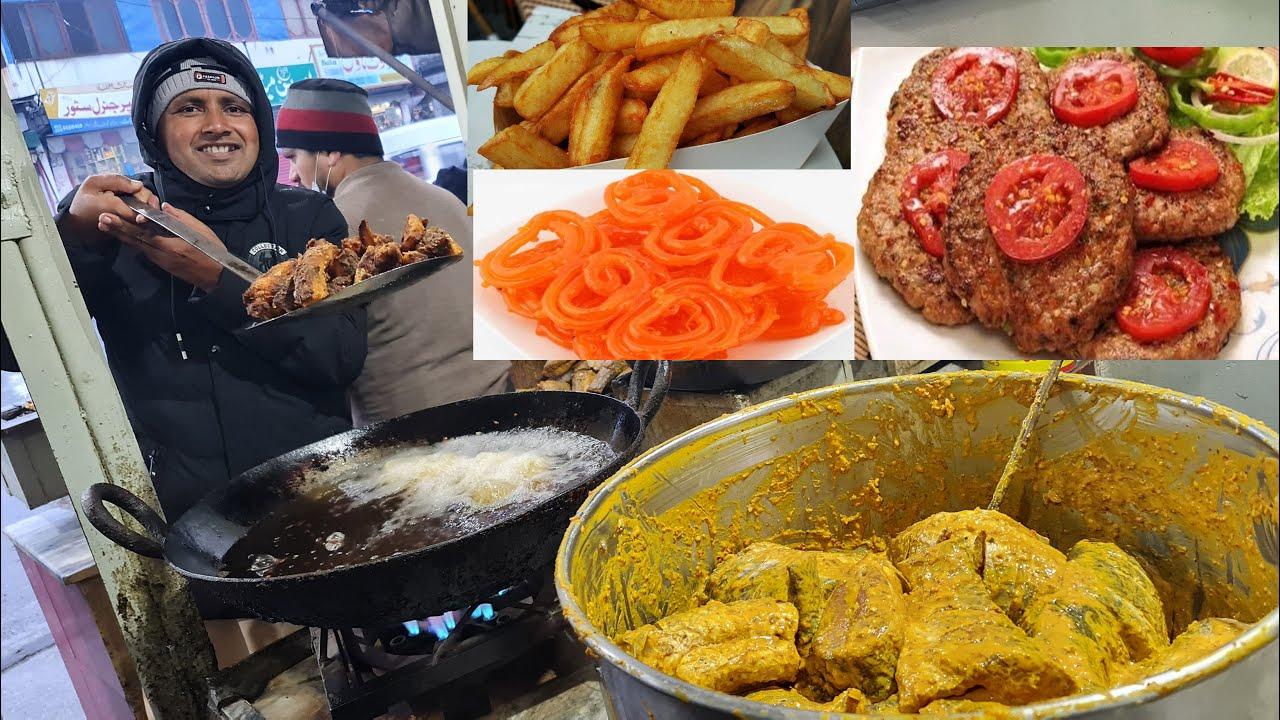 Street Food in Balakot | Food Street | Pakistani Street Food | Balakot Street Food | Mubashir Saddiq