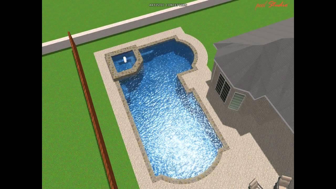 MPHerbert Project 3D Swimming Pool Design YouTube