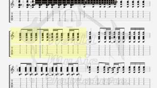 Dunkin Sheik   Barely Breathing GUITAR TAB | World Music Tablature