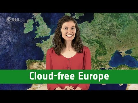 Earth from Space: Cloud-free Europe