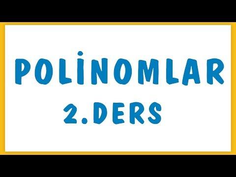 Polinomlar 2.ders Şenol Hoca Matematik