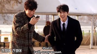 [ENG] Sehun & Kwangsoo being so hilarious | Busted