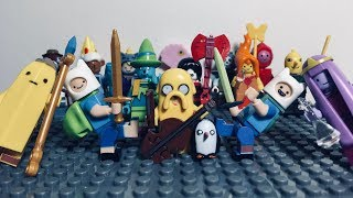 Adventure Time Lego Unofficial Minifigures
