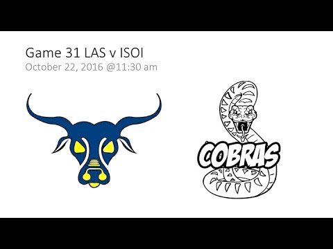 Game 31 LAS v ISOI  - SAISA Girls' Volleyball 2016