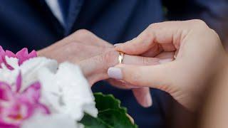 Красивая регистрация брака Оксаны и Виталия 2014 год Никольск