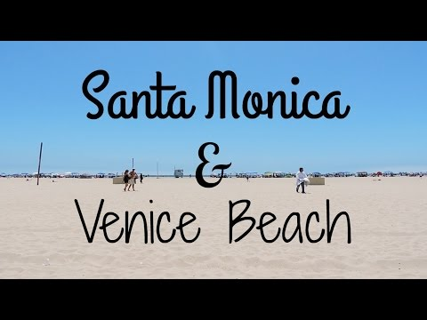TRAVEL DIARY: EXPLORING SANTA MONICA + VENICE BEACH!