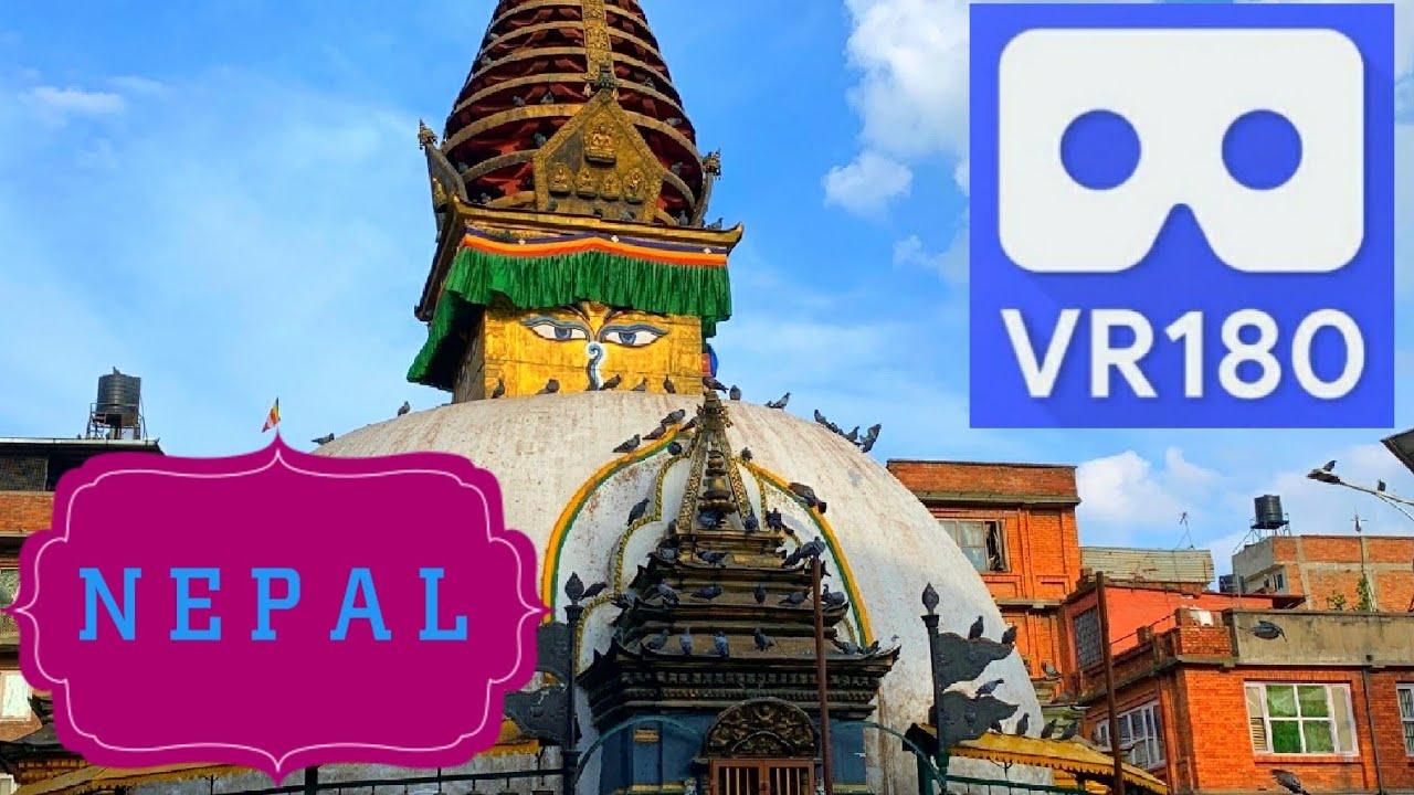 A Moment in Kathmandu VR180 VuzeXR