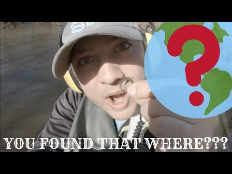 Metal Detecting Rivers For Treasure