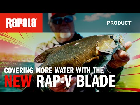 New Rap-V Blade.  The Most Versatile Fishing Lure Ever.