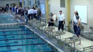2018 WPIAL Class 3A Boys and Girls Swimming Championships - Day Two