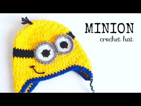 Minion Hat Crochet - ALL SIZES