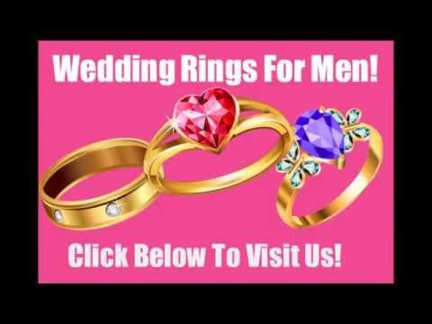 ~*~Fabulous Wedding Rings for Men La Jolla~*~