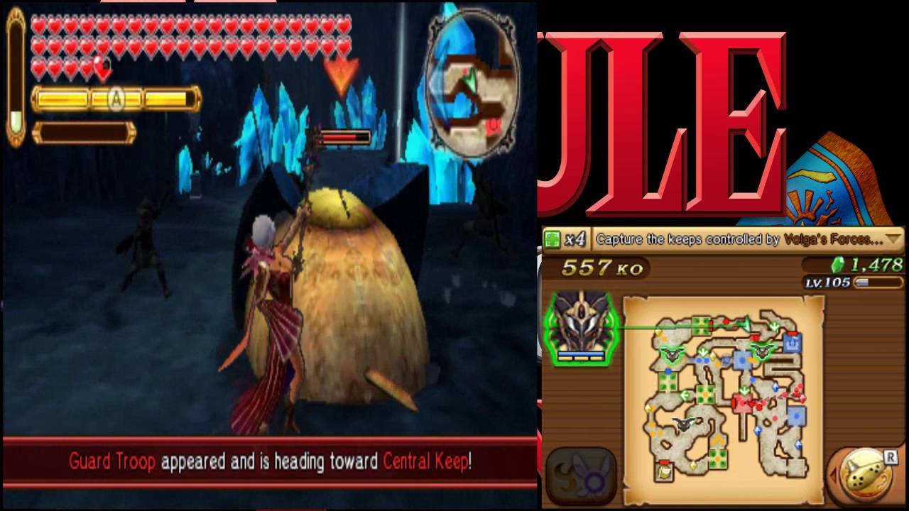 Hyrule Warriors Legends Hard Gold Skulltula Hunting Part 1 Youtube