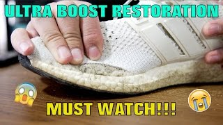 ADIDAS 1.0 ULTRA BOOST FULL RESTORATION!!