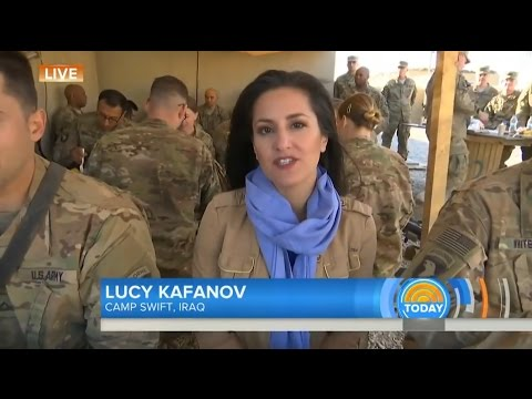 NBC's TODAY Show: US Troops spend Thanksgiving in Iraq