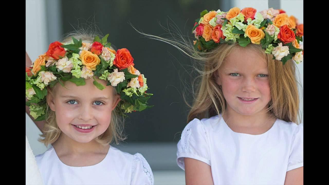 Flower girl crowns youtube flower girl crowns izmirmasajfo