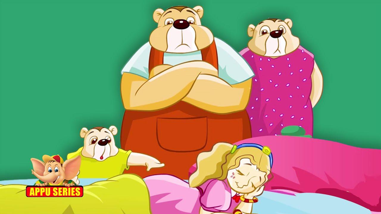 Uncategorized Goldilocks And The Three Bears Story With Pictures goldilocks and the three bears a short story youtube
