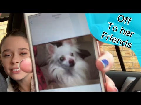 Off to her friends #stevesfamilyvlogs