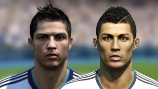 FIFA 13 vs PES 13 Head to Head - Faces #3 HD 1080p