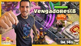 BUSCANDO LA GUERRA PERFECTA - VENGADORES (8 - CLASH OF CLANS - AnikiloEnTuClan #42