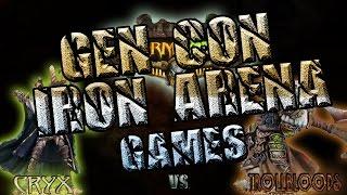 Warmachine & Hordes - Cryx (P-Skarre) vs. Trollbloods (E-Madrak) - 50pt Iron Arena
